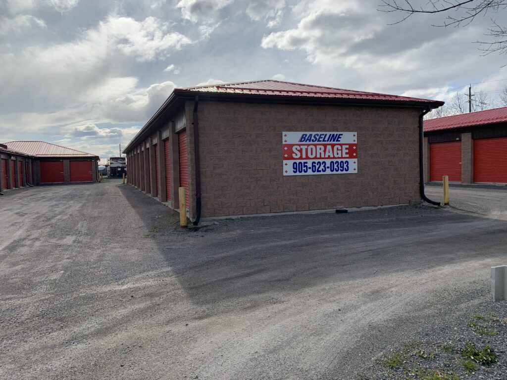storage units our facility